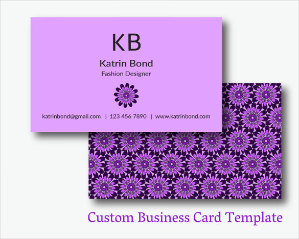 Designed Cool Business Card Template