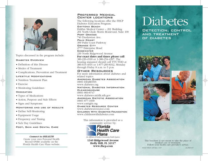 Diabetes Brochure 1