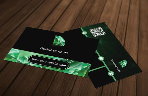 Diamond Business Card Template