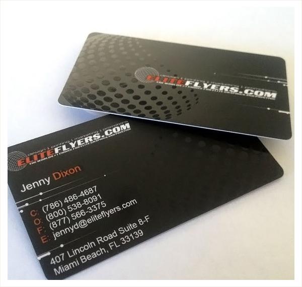 Die Cut Spot Uv Business Card