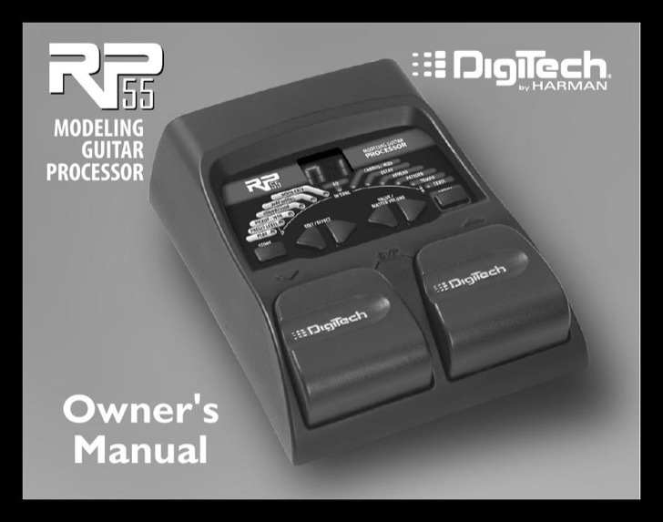 Digi Tech Owners Manual Sample