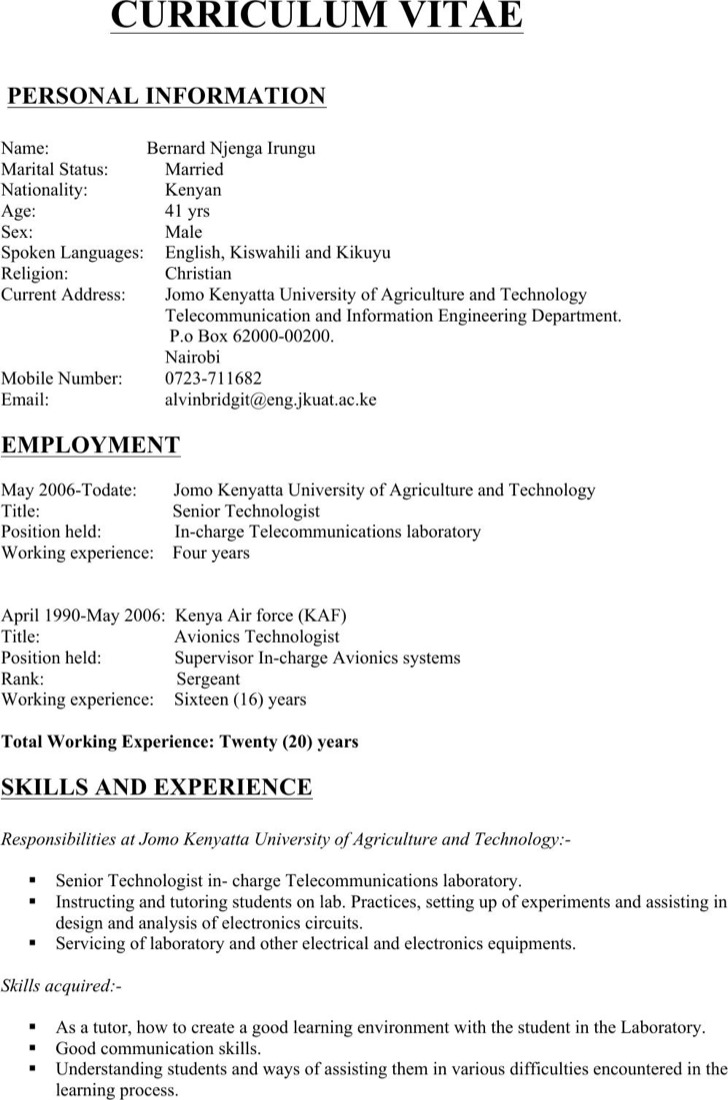 Diploma Electrical Engineering Resume