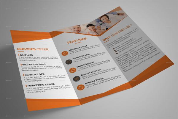 Ditto Tri-Fold Brochure Template