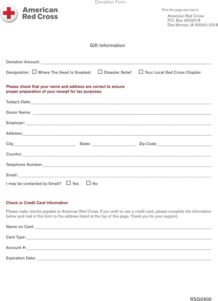 Donation Form 2