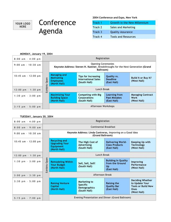 Download Community Meeting Agenda Template Word Format