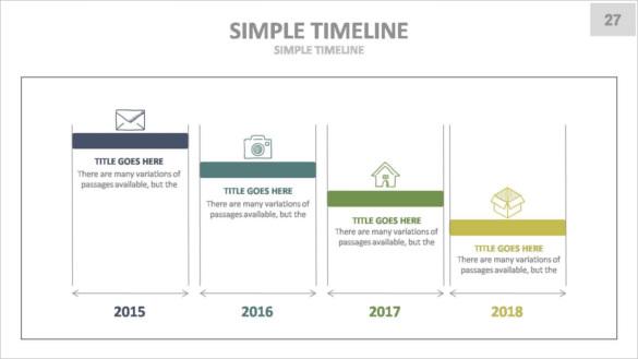 Download Corporate Keynote Presentation Timeline Template