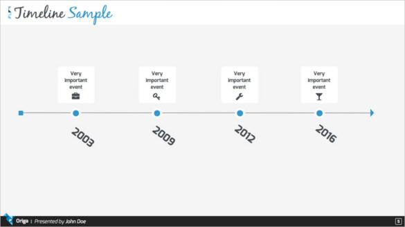Download Origa Keynote Timeline Presentation Template