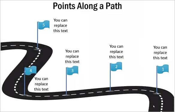 Draw A 3D Roadmap In PowerPoint : Tutorial