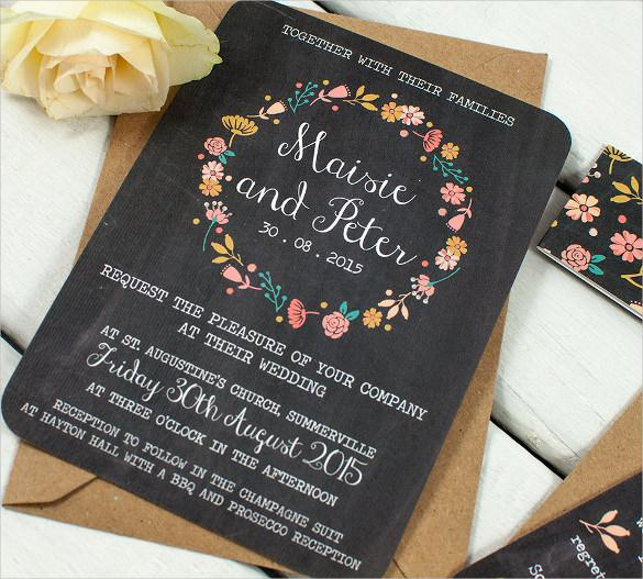 Easy To Edit Wedding Inviatation Template For Download