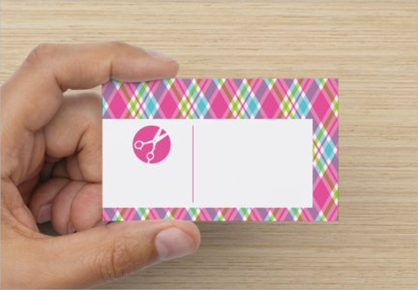 Editable Die Cut Business Card Template