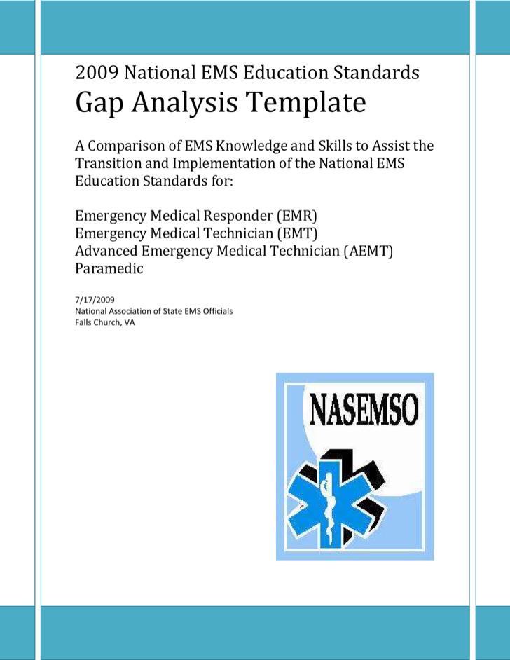Education Training Gap Analysis
