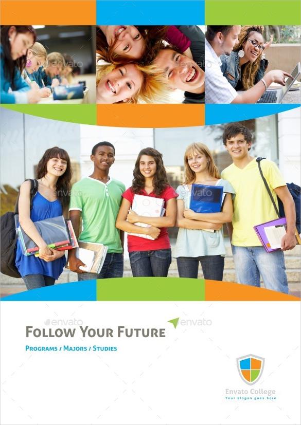 Educational Graduation Brochure Template InDesign Download