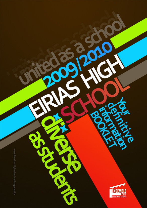 Eirias School Brochure Idea