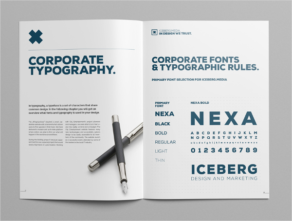 Elite Corporate Brochure Design