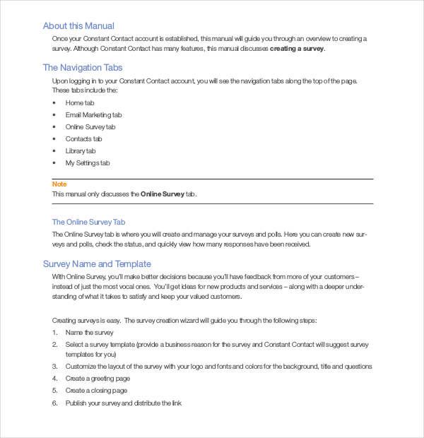 Email Deployment method for Email Surveys PDF Template