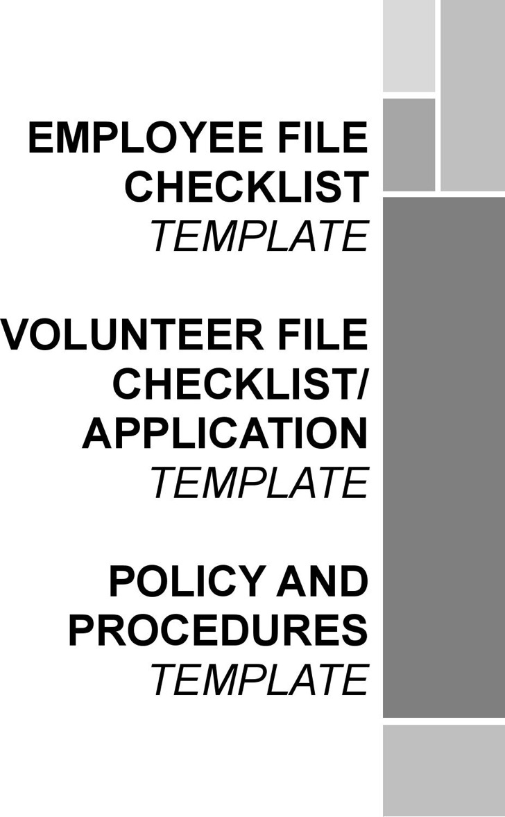 9 employee checklist templates free download