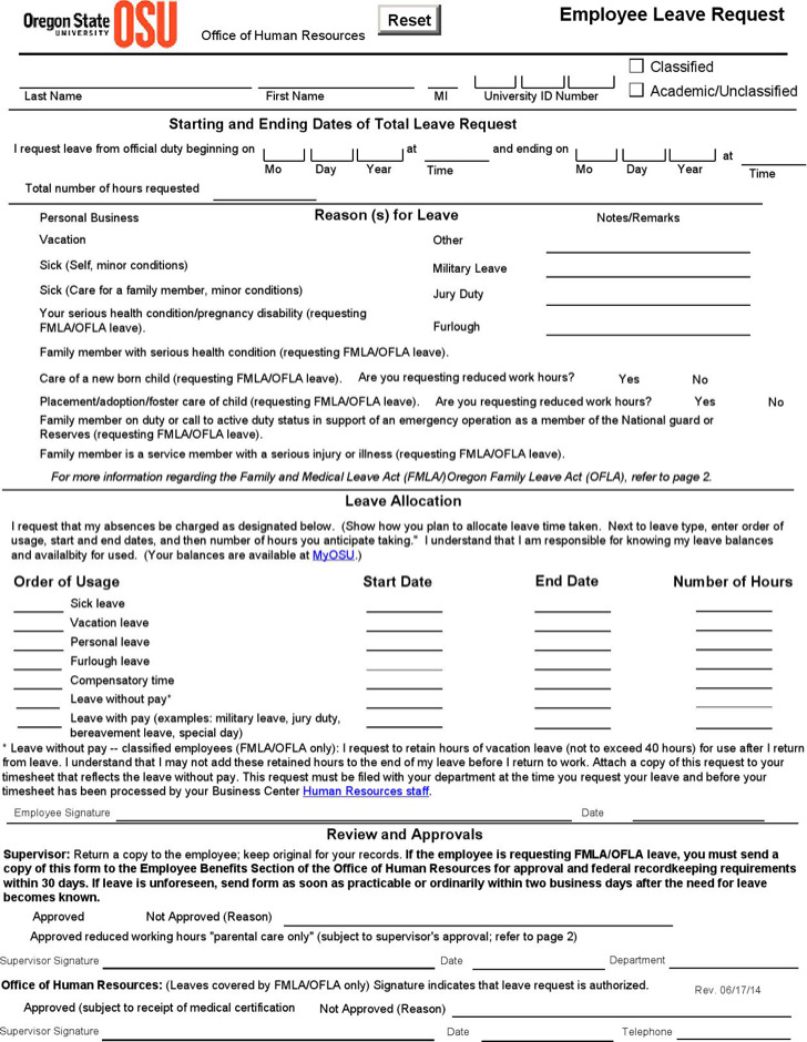 write up forms for employees templates