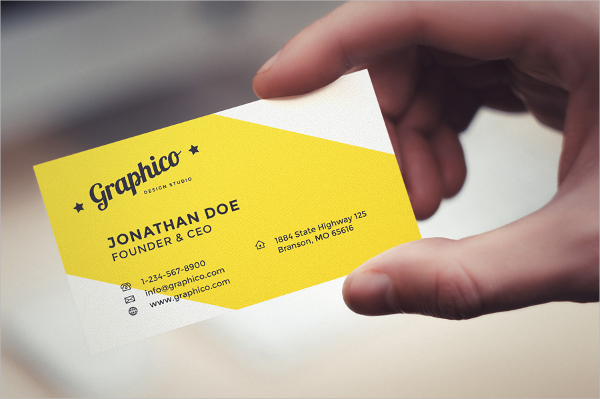 Enterprise Engraved Business Card