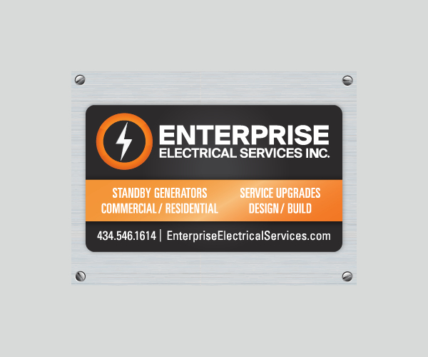 Enterprise Magnetic Design Business Card Template