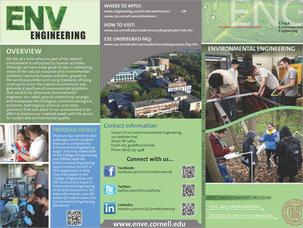 Environmental Engineering Brochure