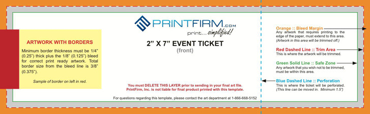 3 event ticket template free download