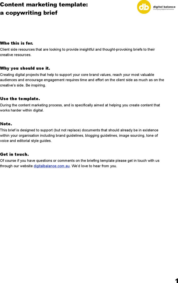 7 sample marketing brief templates free download example content marketing brief template maxwellsz