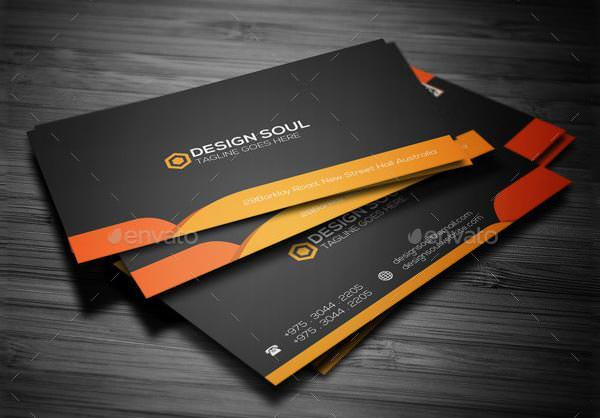 Example Corporate Business Card