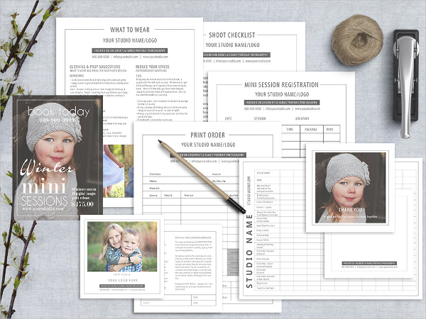 Example Photography Marketing Forms Template