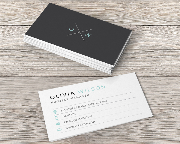 Eye Catching Business Card Template