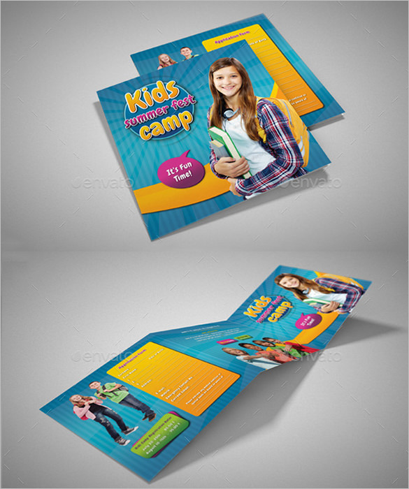 Fabulous Camp Brochure Template