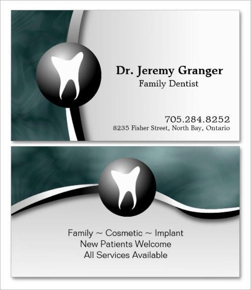 Family Dental Surgen Business Card