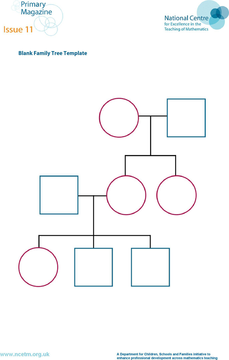 5 Family Tree Template Free Download