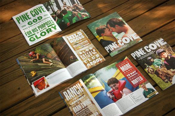 Fantastic Camp Brochure Template