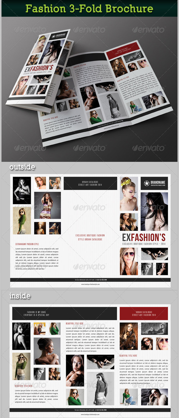 Fashion 3-Fold Brochure 17