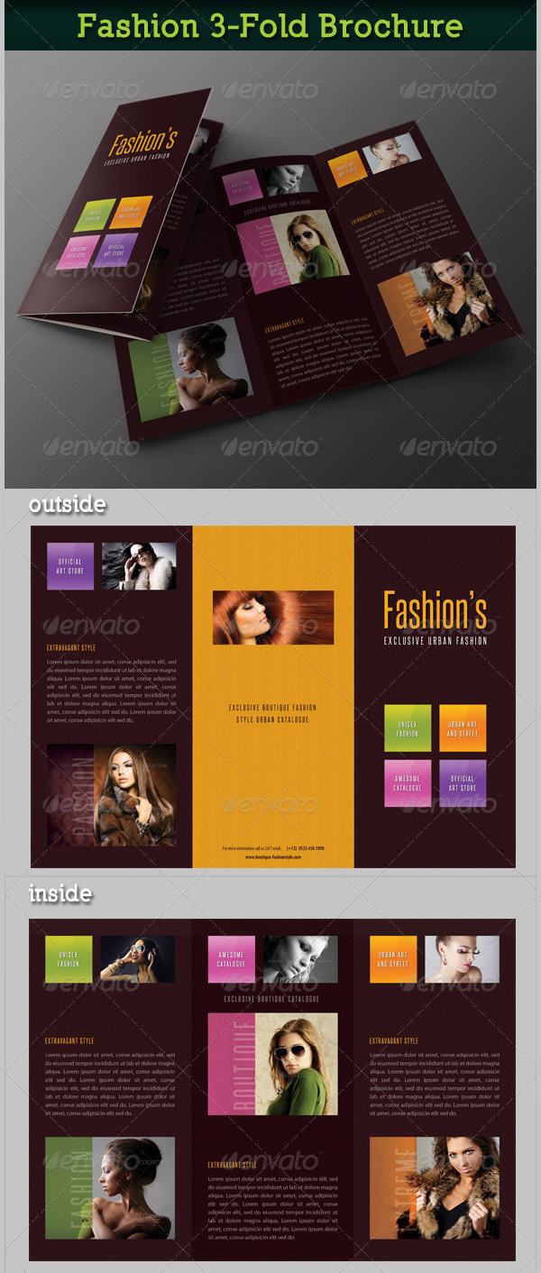 Fashion 3-Fold Brochure 18