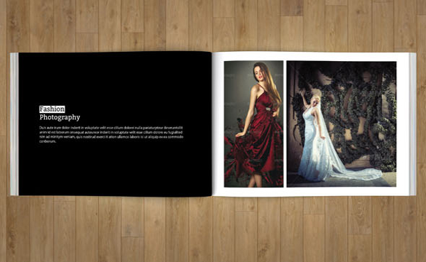 Fashion Advertising Brochure Template