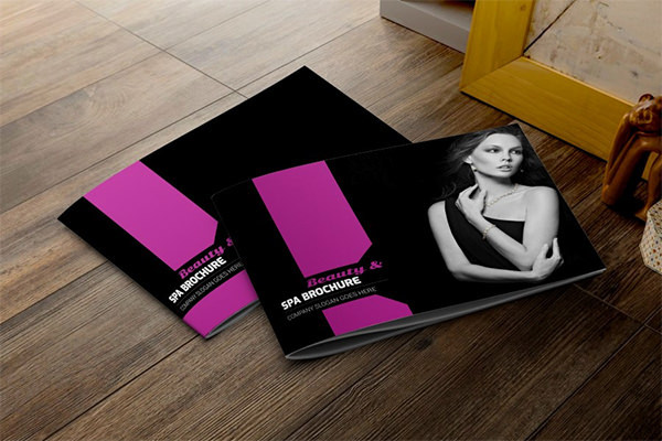 Fashion & Beauty Brochure Template