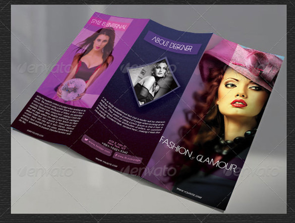 Fashion Brochure Design Fully Editable