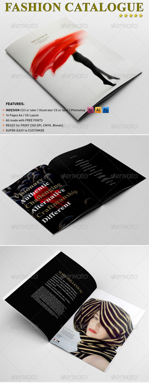 Fashion Catalogue / Brochure Template