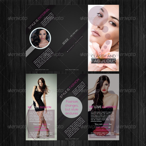 Fashion Industry Brochure Design