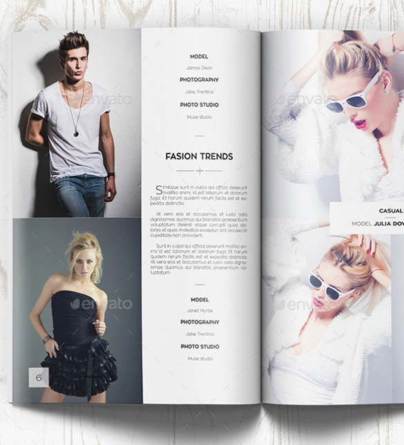Fashion Photography Brochure Template
