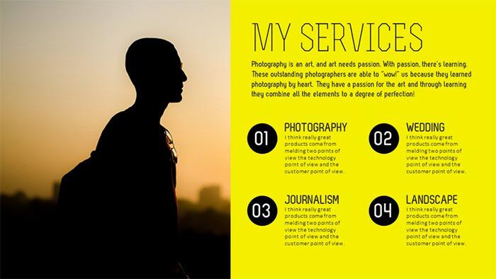 Flocus Showcase Creative PowerPoint Template