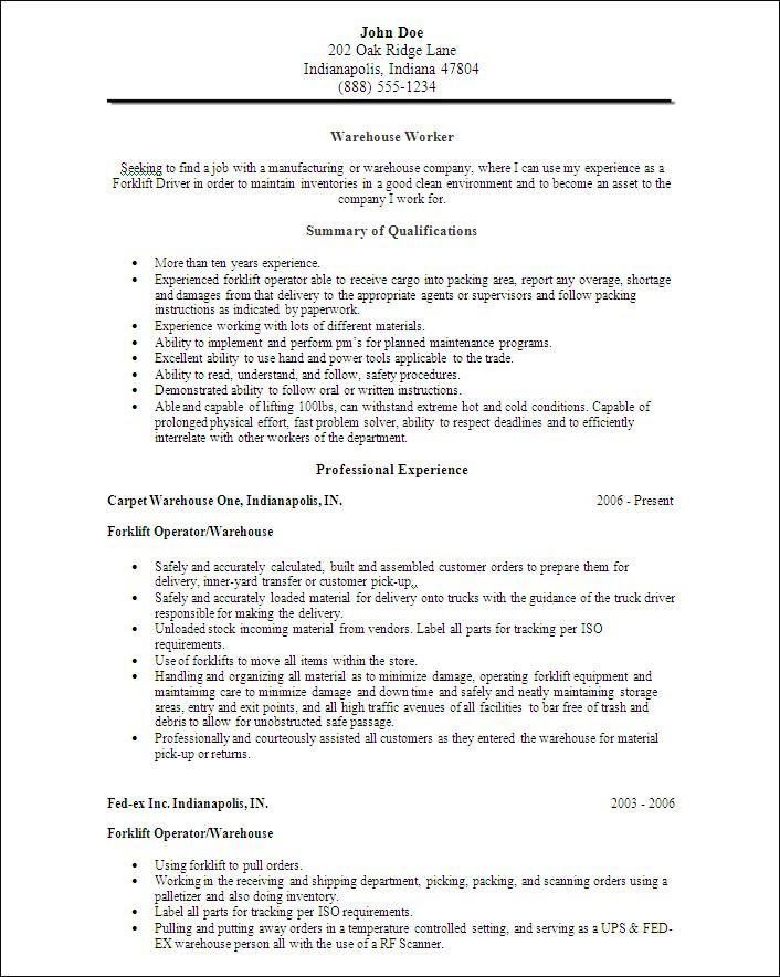 Food Delivery Position Resume For School Student