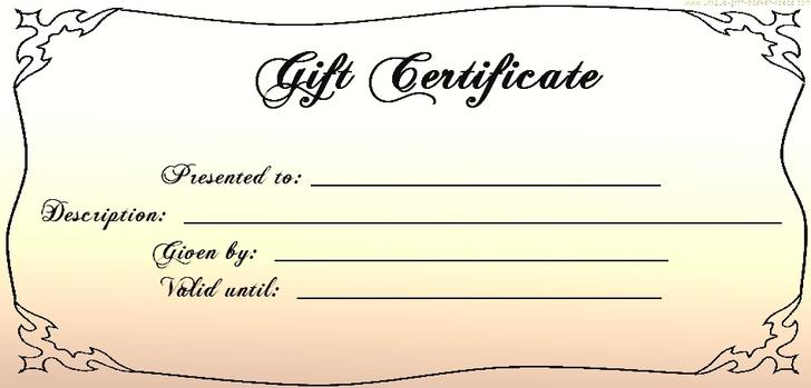 34 gift certificate template free download free business gift certificate template online cheaphphosting Image collections