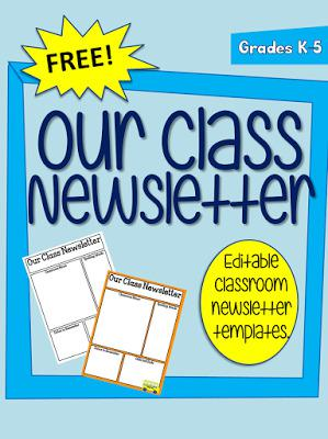 Free Classroom Newsletter Template