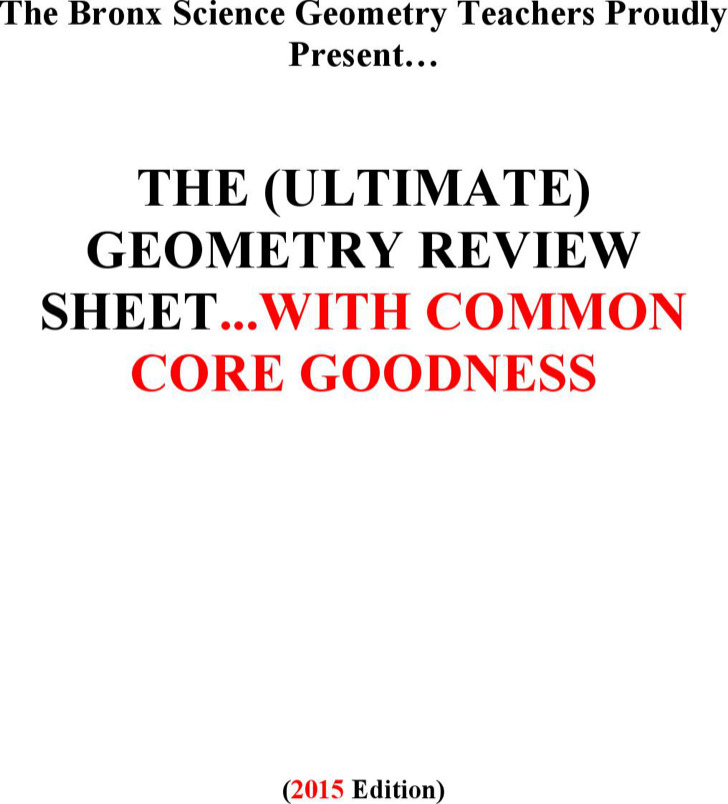 Free Common Core Sheet Template