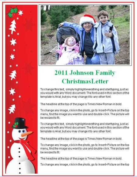 17 Christmas Newsletter Templates Free Download