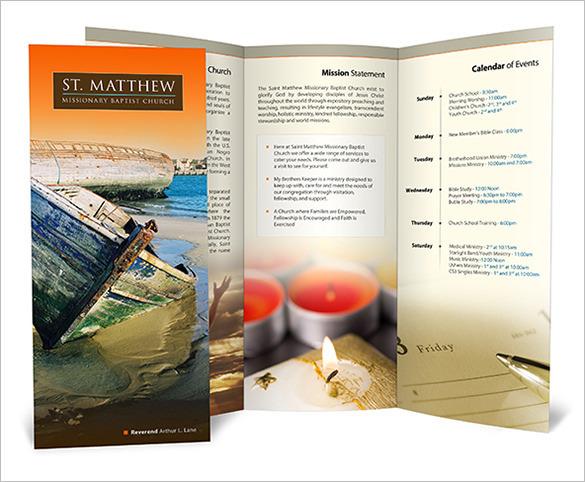 Free Download St. Matthews Baptist Church Brochure