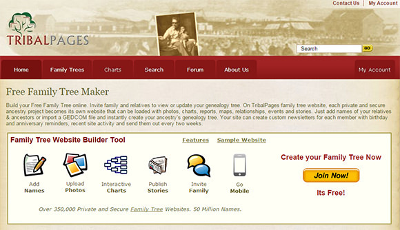 16 top family tree builders to create family tree easily free download