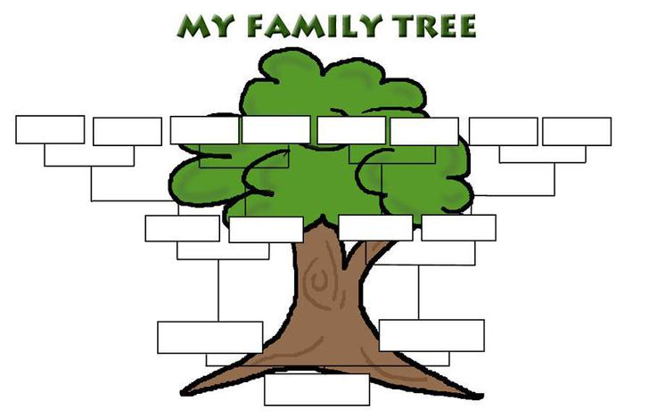 Free Family Tree Template Download